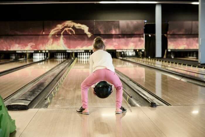 Fun Moments in the Bowling Alley