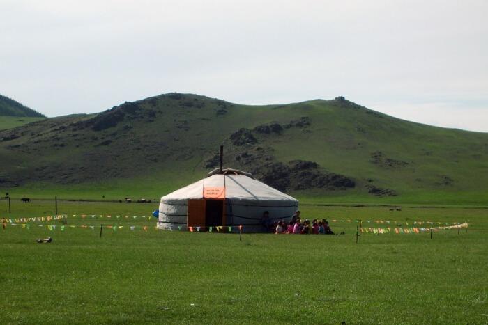 Genghis Khan in the Golan