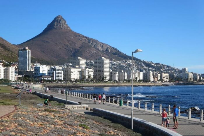 Go Swinging At Sea Point Promenade