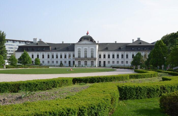 Grassalkovich Palace view