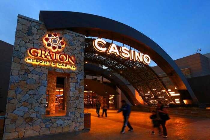 Graton Resort & Casino front gate