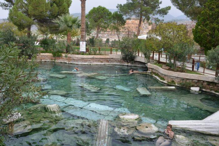 Hierapolis Antique Pool