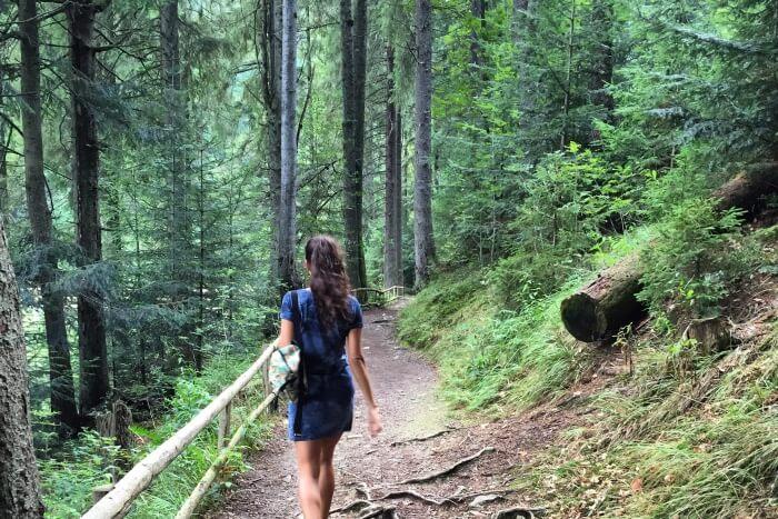 Hike around