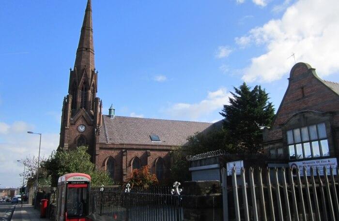 Holy Trinity Church view