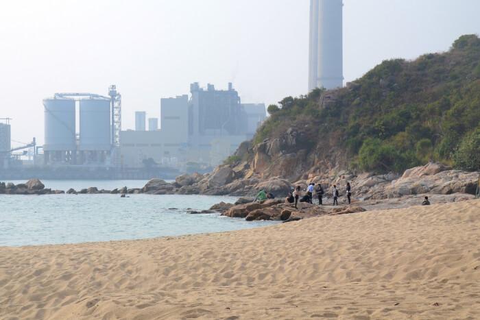Hung Shing Yeh Beach in Hong Kong