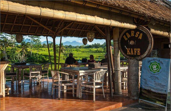 Karsa Cafe view
