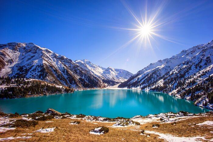 Kazakhstan winter
