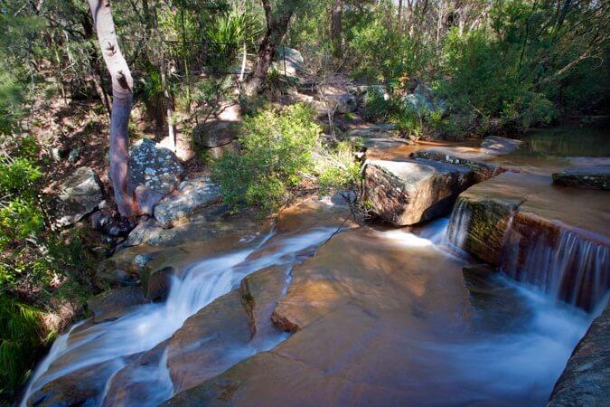 Kellys Falls, Garawarra National Park.