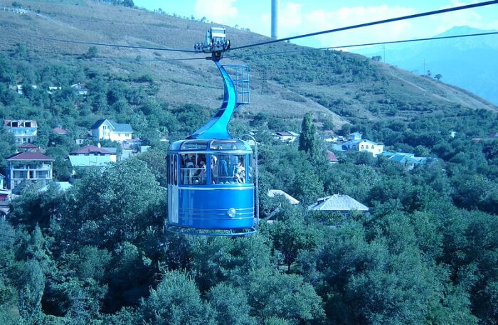Kok Tobe Hill View