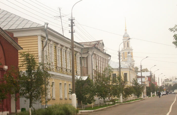 Kolomna in moscow