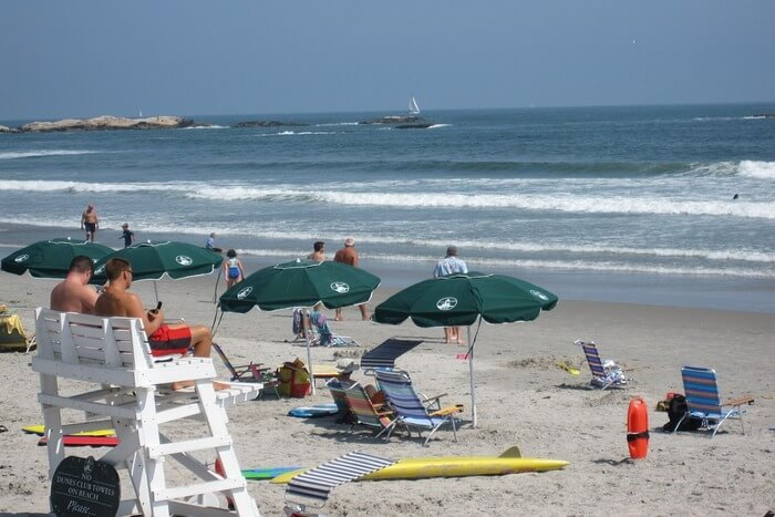 Ocean Summer Beach Umbrellas