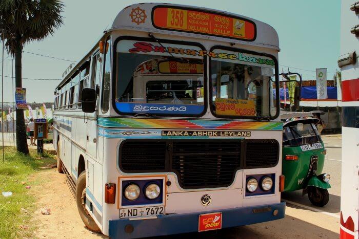 Local Intercity Bus Ride