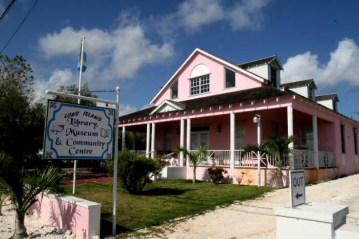 Long Island Library & Museum in Bahamas