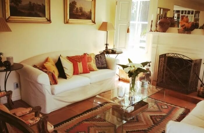 homestay offers two bedrooms