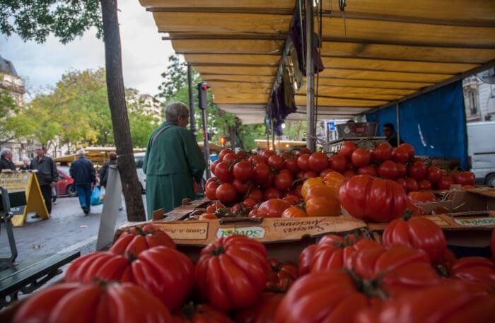 Market storing French history