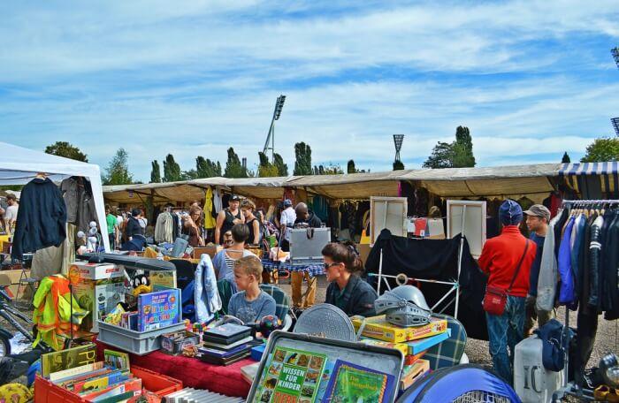 Mauerpark Flea Market