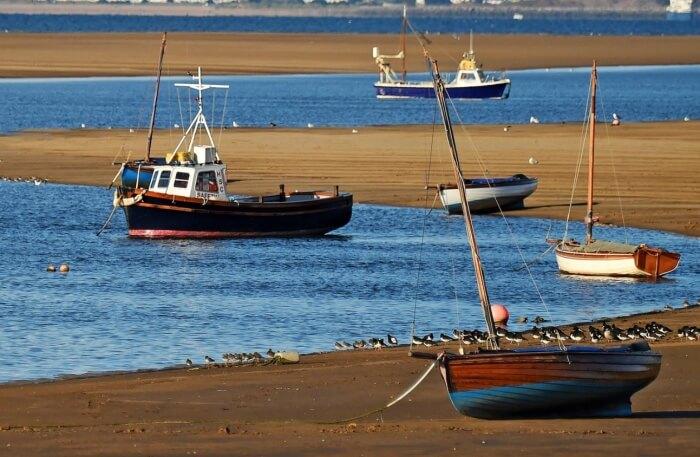 Boat on beachside