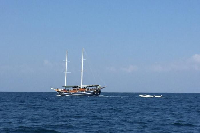 Nevis Ernesta La Digue Boat Excursions