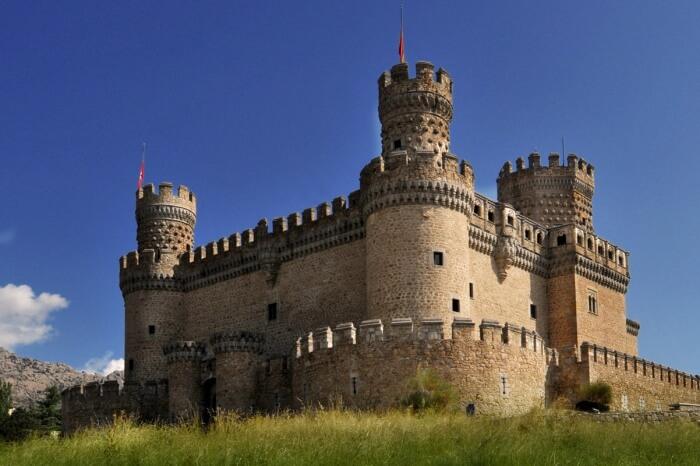 New Castle of Manzanares el Real
