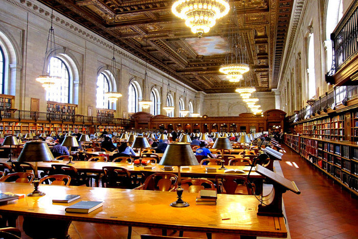 Public Library of New york