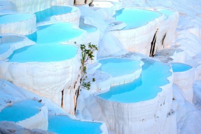 Pamukkale In Winter