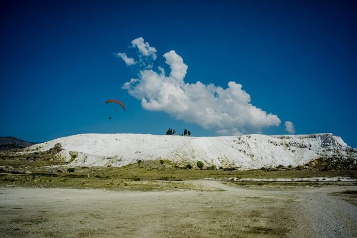Pamukkale White Sky Paragliding