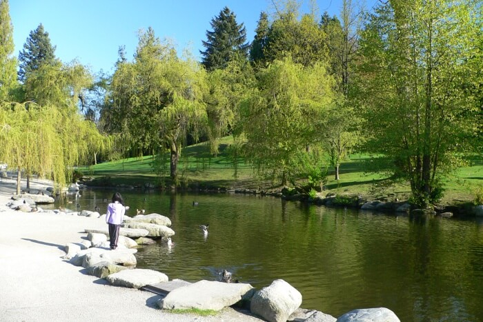 Queen Elizabeth Park Nature Reserve has to be on one's visiting list