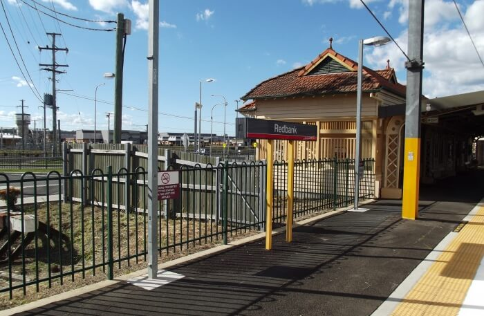 Redbank Range Railway view