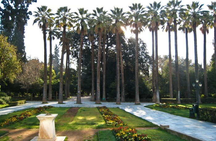 Relaxing in the National Garden