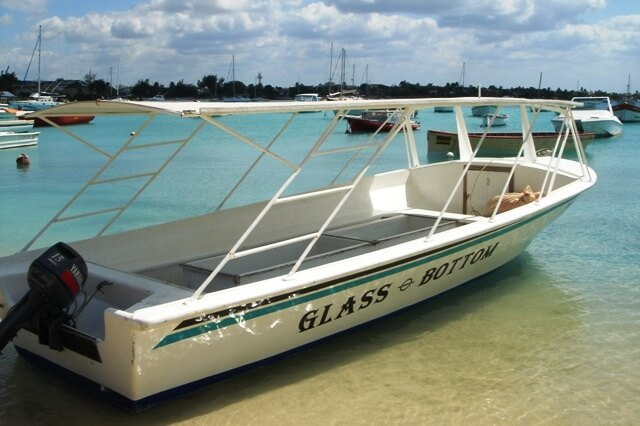 Riding the glass boats
