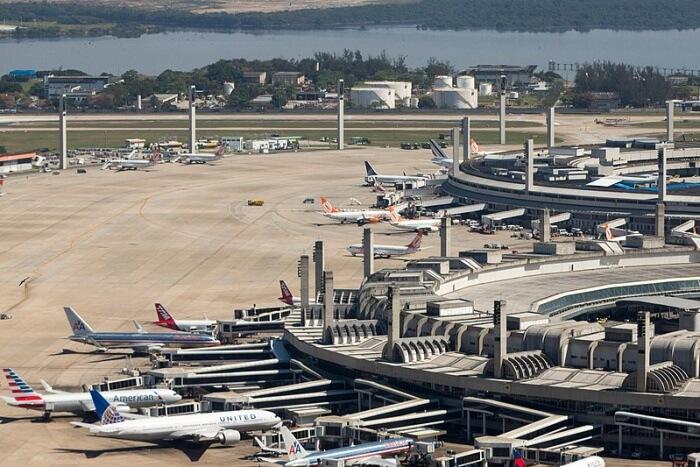 Rio De Janeiro Galeao Airport
