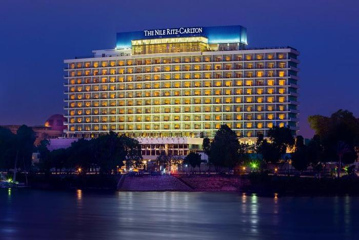 Ritz Carlton Hotel outer view