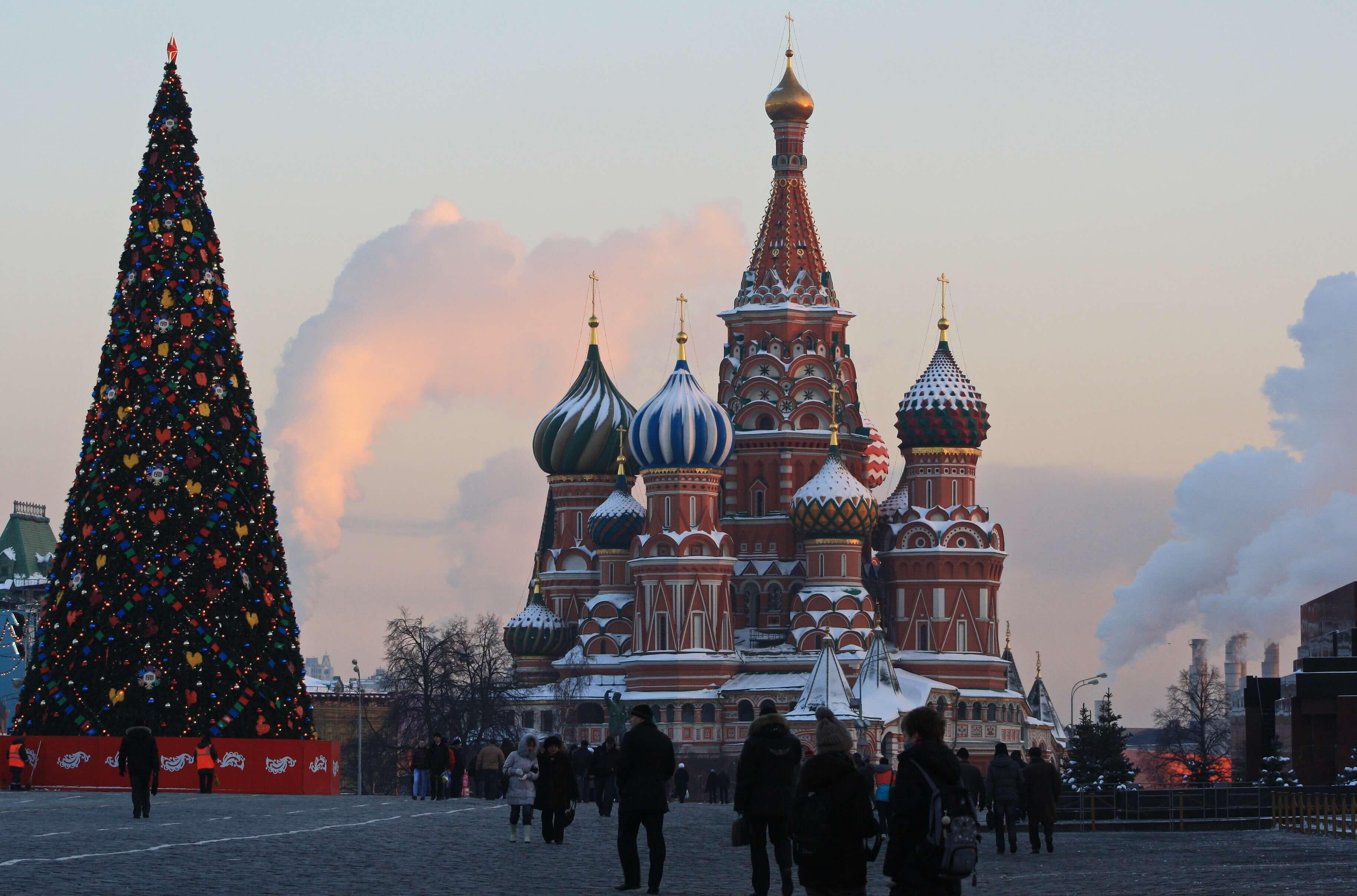 Russia christmas