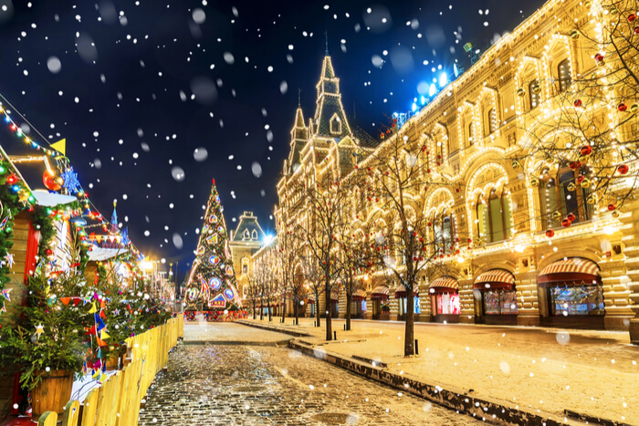 Russia in December