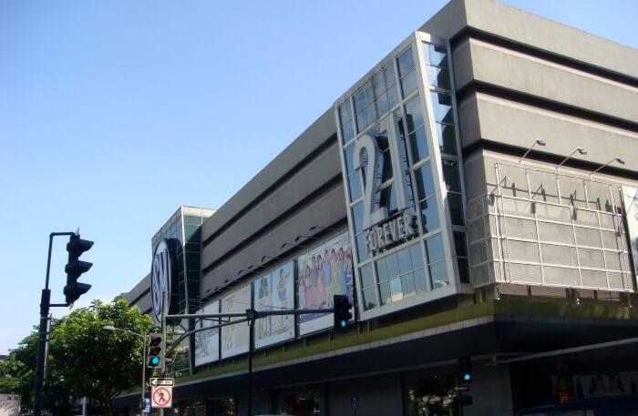 Makati Mall view