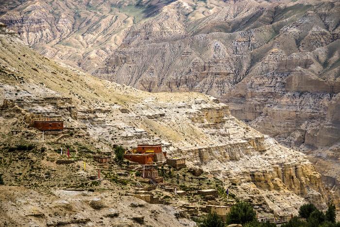 Salt mines and rock structures
