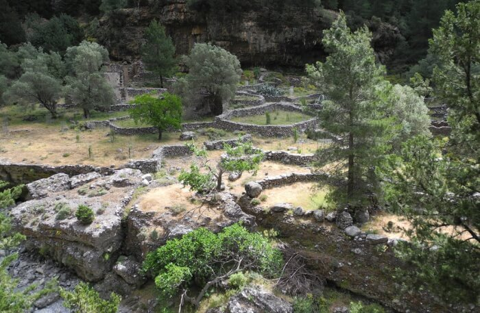Samaria National Park in Greece