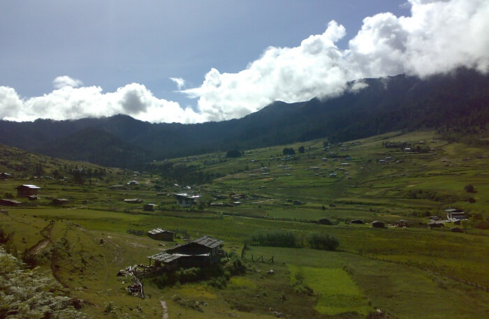 Scenic trails of The Bumthang Cultural