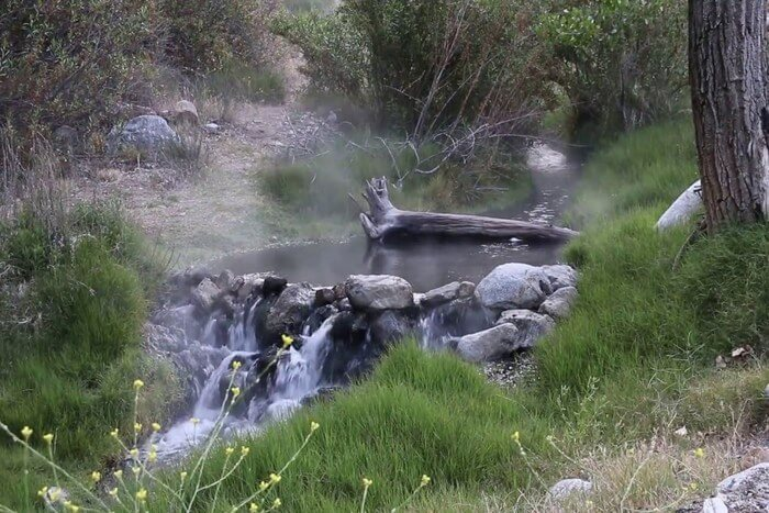 beautiful natural hot water