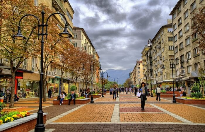 Shopping in Vitosha Boulevard- Of heart