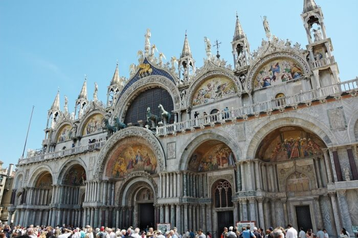 St. Mark's Basilica-The most visited church in Italy