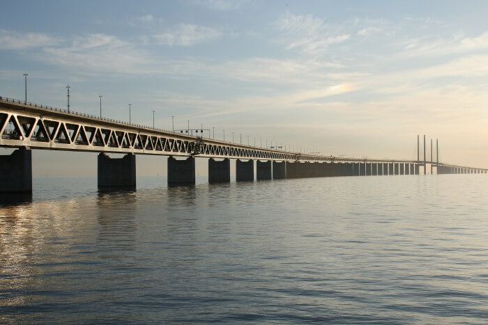 Take A Drive On The Oresund Bridge
