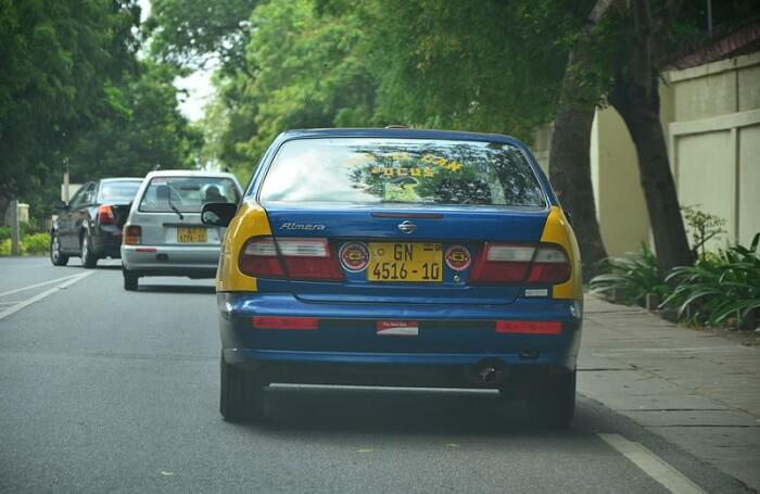 Take a taxi tour