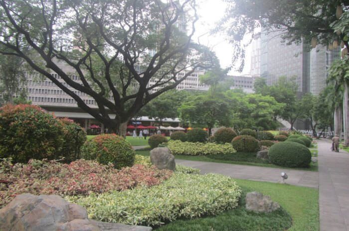 The Ayala Triangle Gardens
