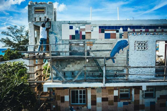 The Dolphin House in Bahamas