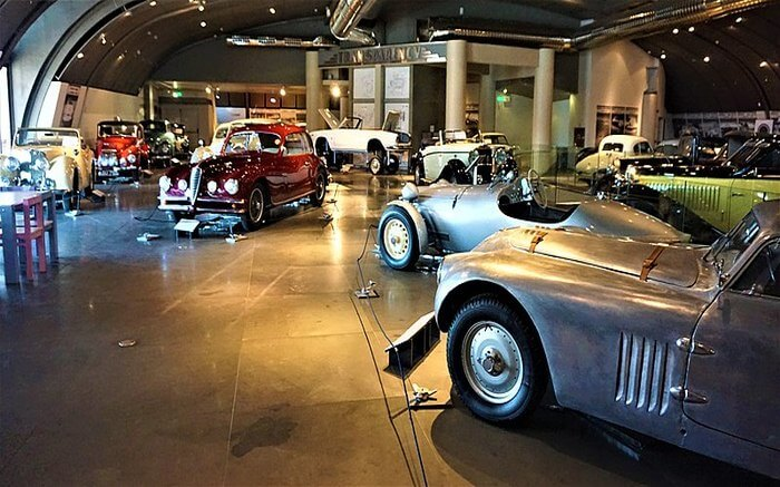 Luxury car view