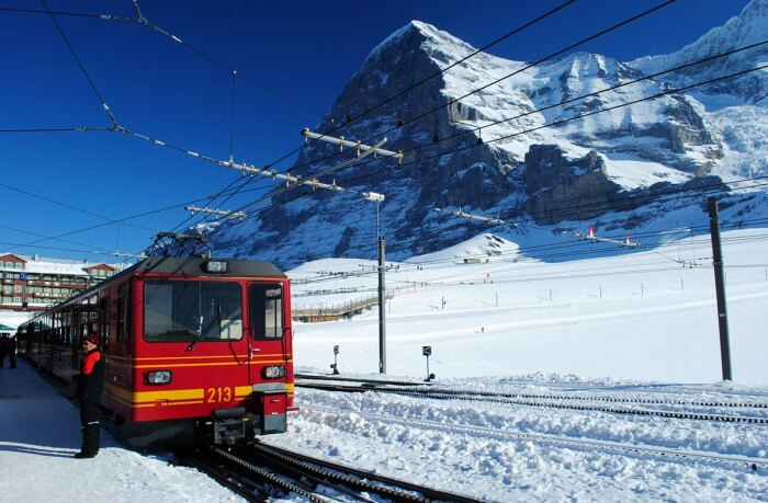 The Jungfrau Railways