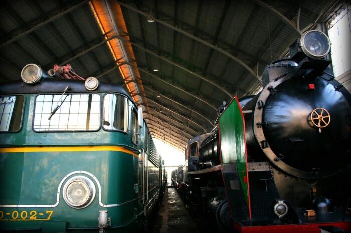 The Madrid Railway Museum