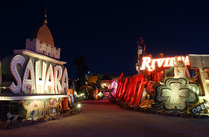 The Neon Museum view