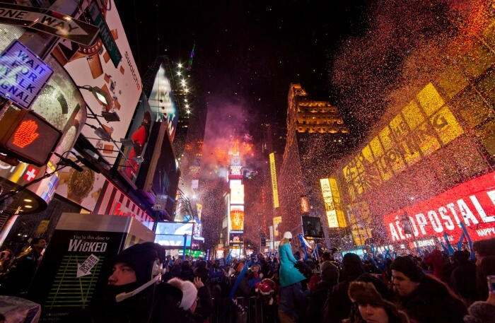 The New Year's Eve Party